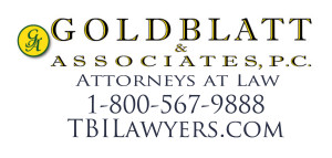 Goldblatt & Associates,PC,Attorneys at Law,1-800-567-9888, TBILawyers.com