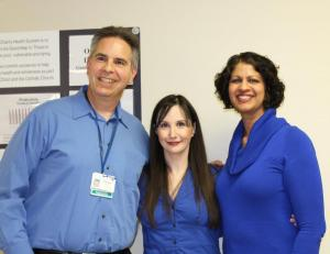 Howard Wilen, Aimee  Rubin (both of Access PT) and Laleene Ali (BIANYS FACTS Coord.)
