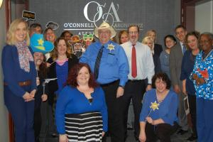BIANYS Board Member Kelly Mikullitz & the team at O'Connell and Aronowitz Go Blue!